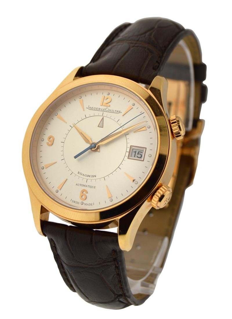 Jaeger - LeCoultre Master Memovox Automatic 40mm in Rose Gold