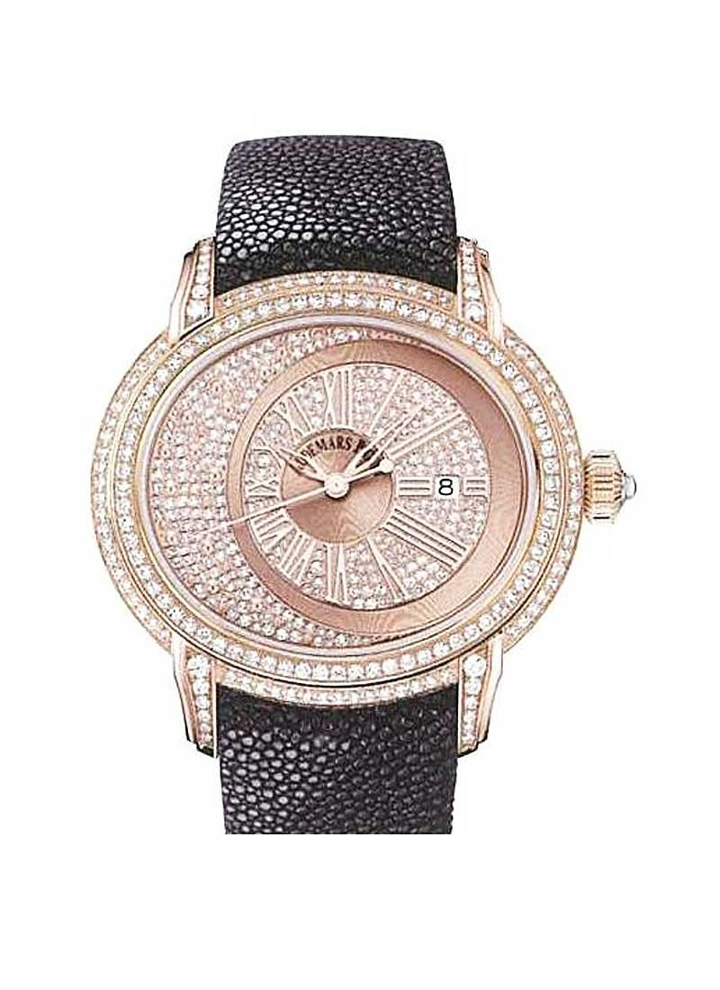Audemars Piguet Millenary 45mm Automatic in Rose Gold with Diamond Bezel