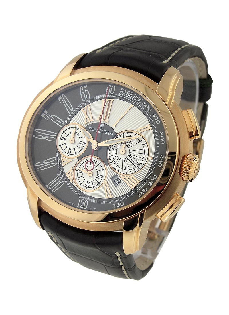Audemars Piguet Millenary Chronograph in Rose Gold