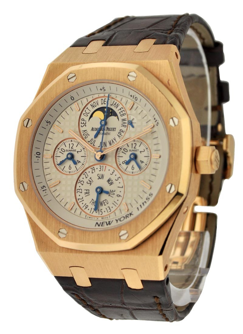 Audemars Piguet Royal Oak Equation of Time in Rose Gold