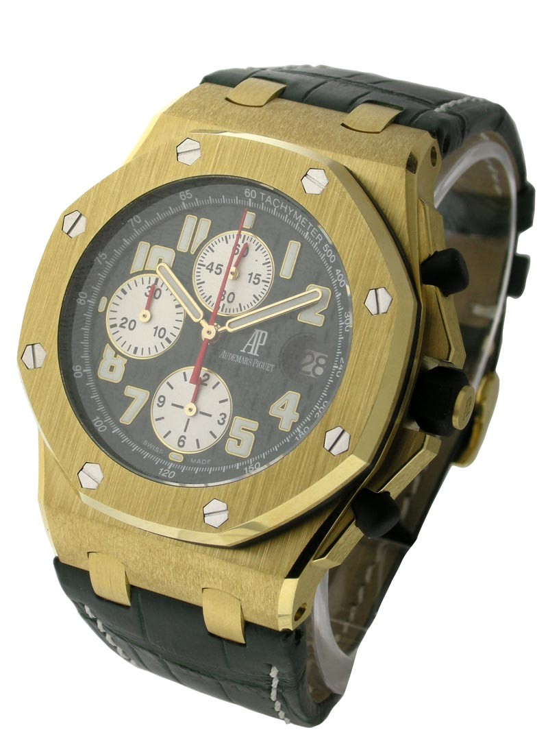 Audemars Piguet Monte Napoleone Yellow Gold Offshore