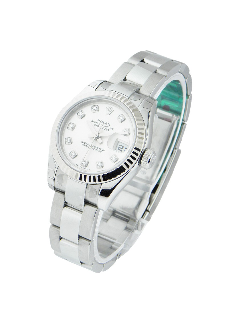 Rolex Unworn Lady's Datejust with Oyster Bracelet