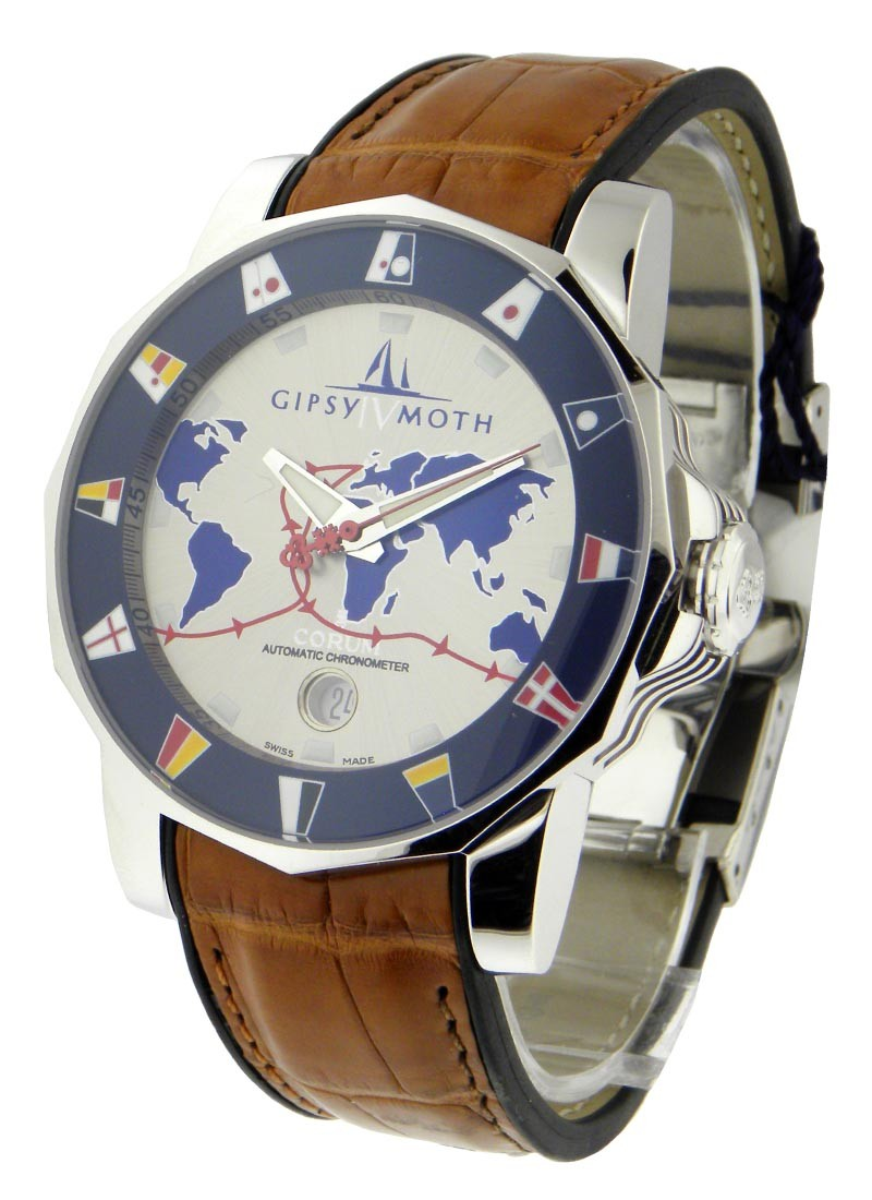 Corum Admirals Cup Gipsy Moth in White Gold