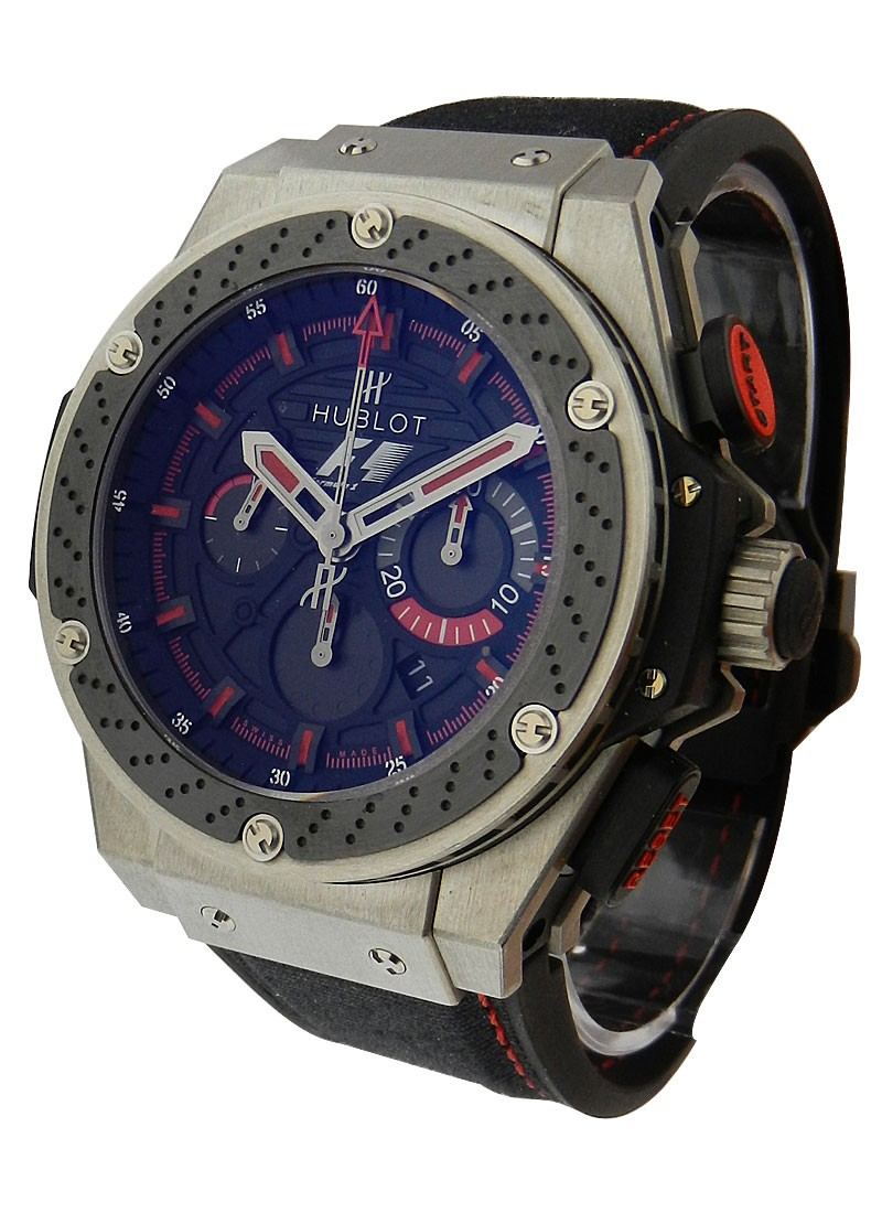Hublot F1 King Power Chronograph in Zicronium - LE to 500 pcs.