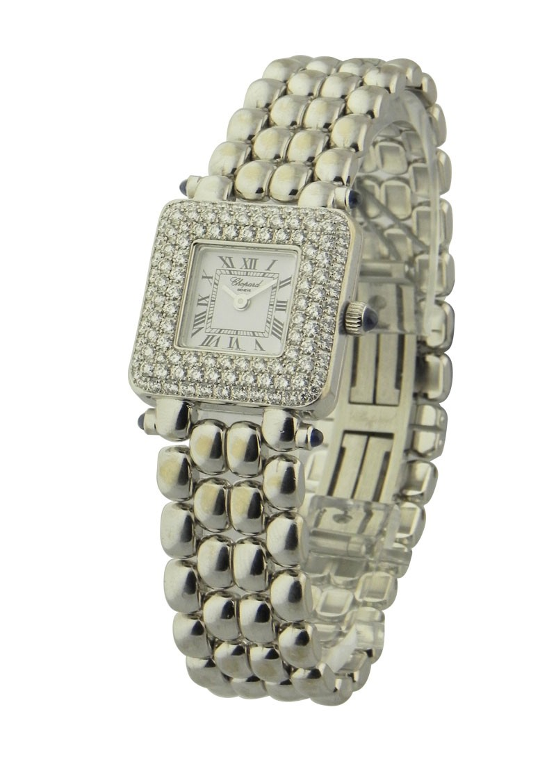 Chopard Classic Diamond 18kt in White Gold with Diamond Bezel