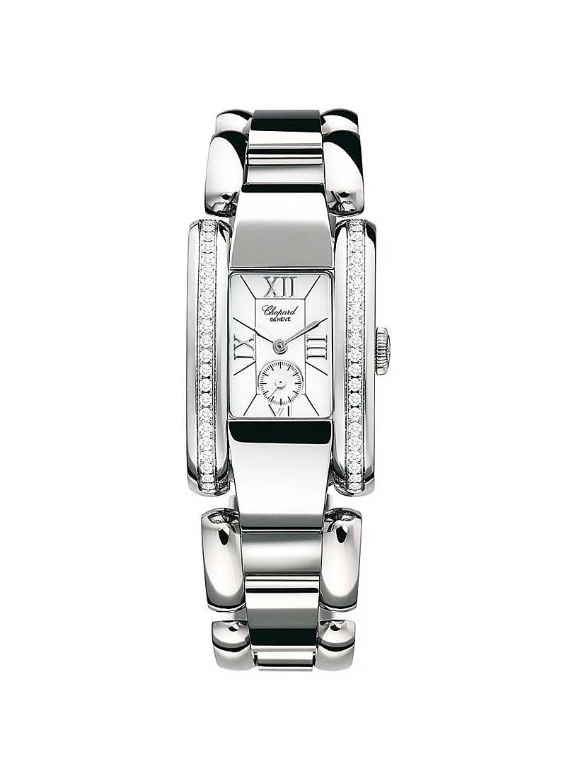 Chopard La Strada Quartz in Steel with Diamond Bezel
