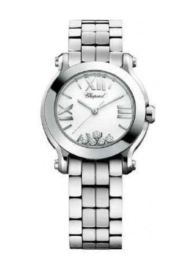 Chopard  Happy Sport Mini Size     Round in Steel