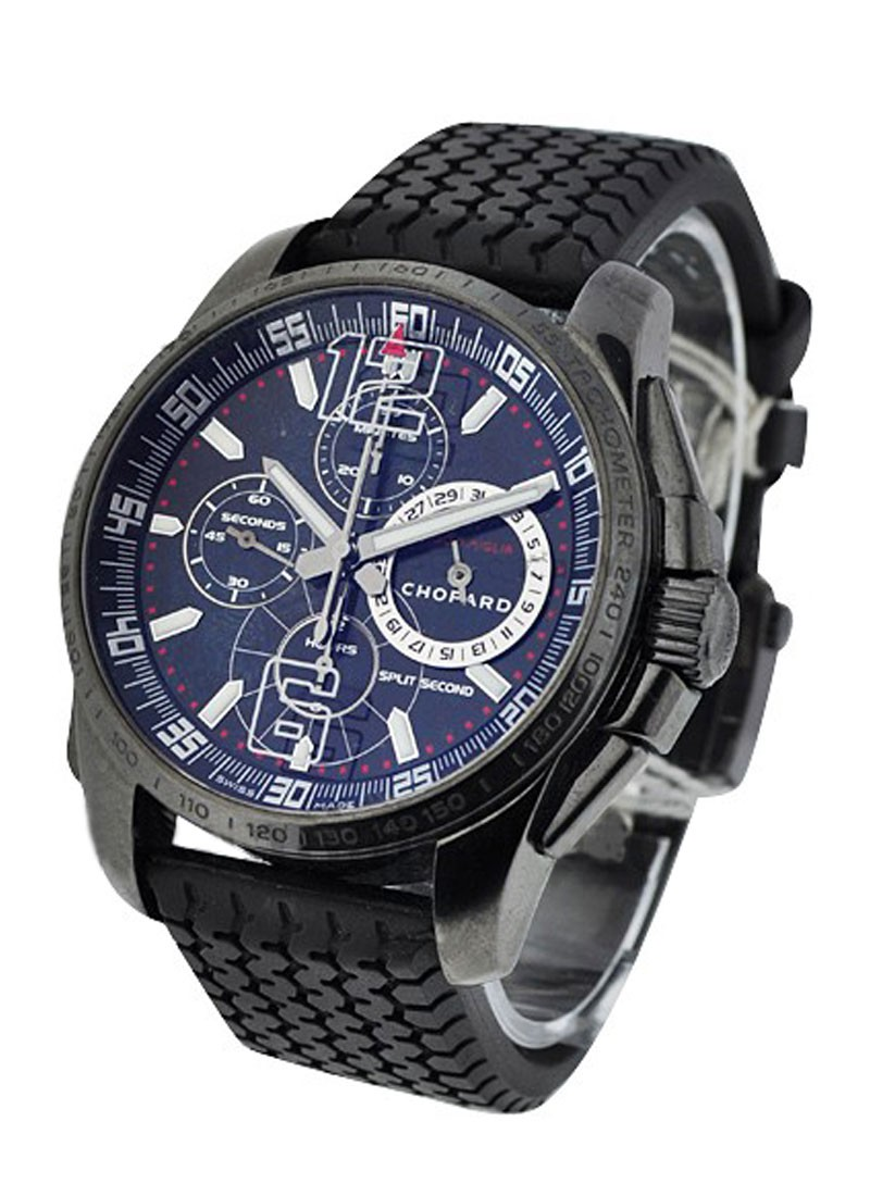 Chopard Mille Miglia GT XL Chrono Split Second Speed in PVD Steel