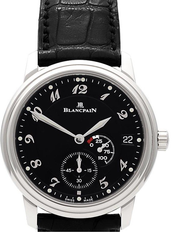 Blancpain Villeret Ultra Slim Power Reserve in Steel