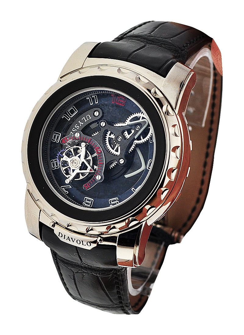 Ulysse Nardin Freak Diavolo Mechanical in White Gold