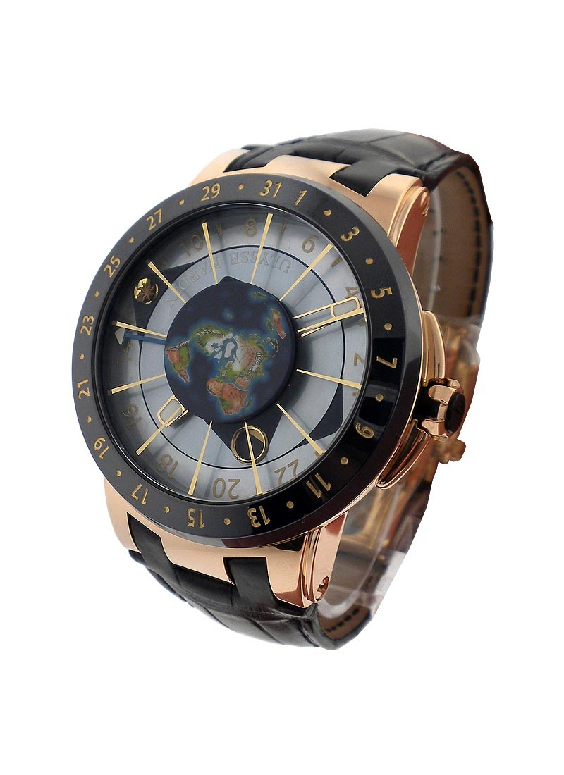 Ulysse Nardin Moonstruck Rose Gold - Limited Edition in Rose Gold with Ceramic Bezel