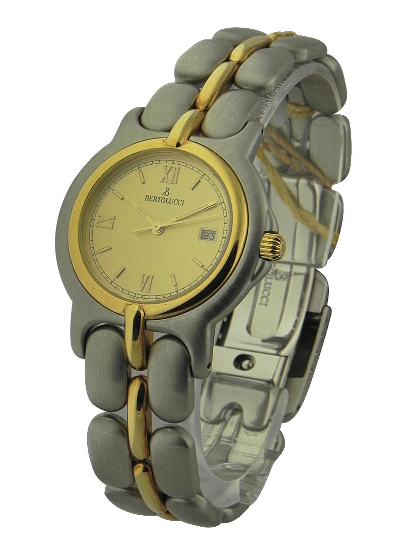 Bertolucci Vir 2 Tone in Steel and Yellow Gold Bezel