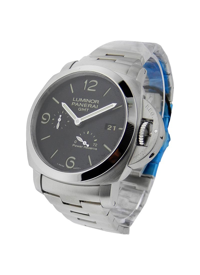 Panerai PAM 347 - 1950 Series GMT Power Reserve in Steel