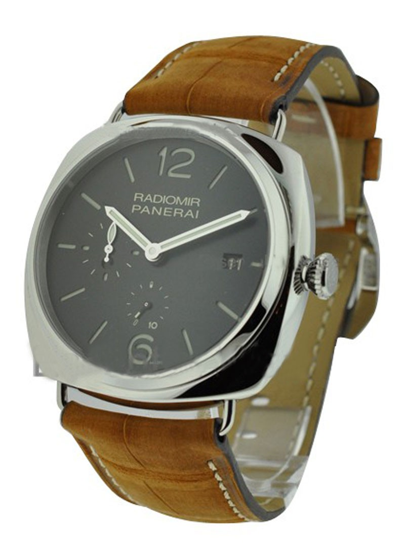 Panerai PAM 323 - Radiomir 47mm GMT with AM/PM Indicator in Steel