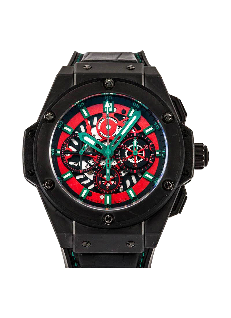 Hublot Big Bang King Power Mexico in Black Ceramic