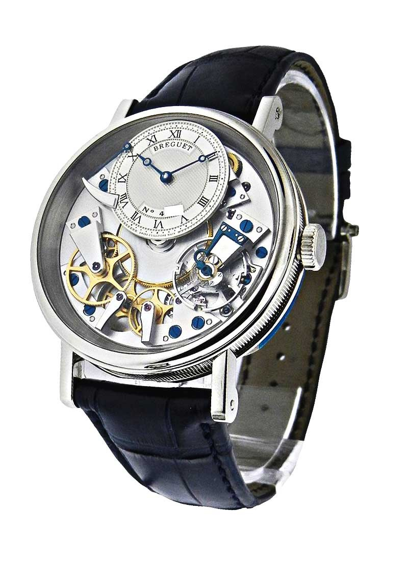 Breguet La Tradition Mechanical 40mm in White Gold
