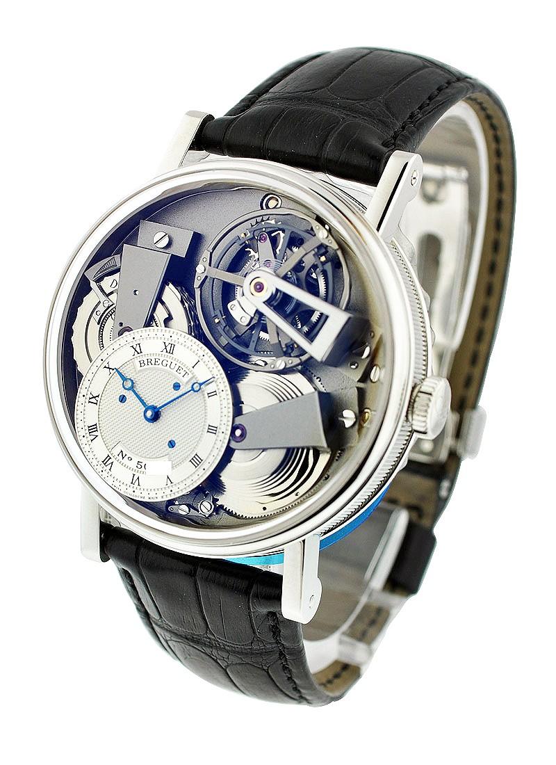 Breguet La Tradition Fusee Tourbillon in Platinum
