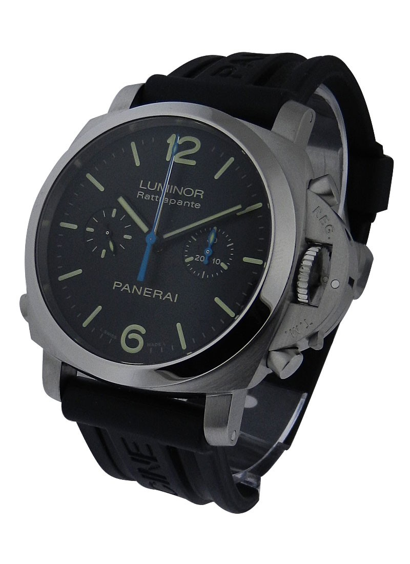 Panerai PAM 362 - 1950 Series Chronorgraph Rattrapante in Steel