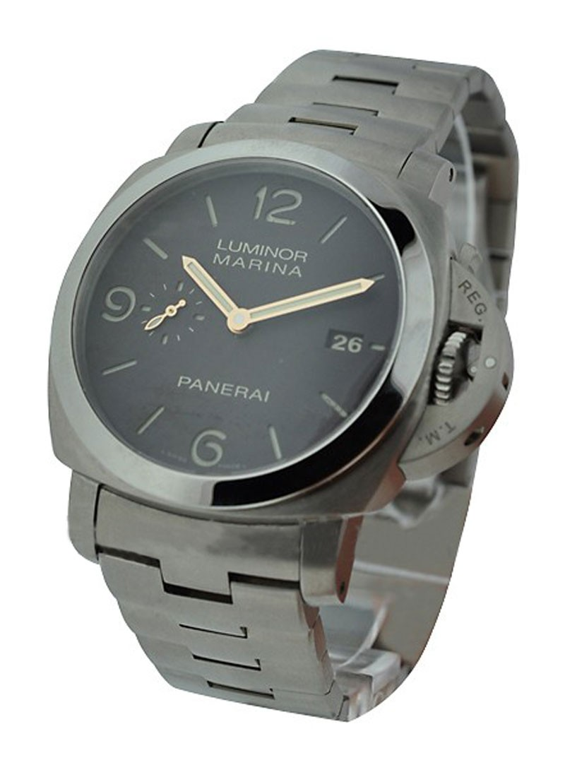 Panerai Pam 352 - Marina 3 days in Titanium