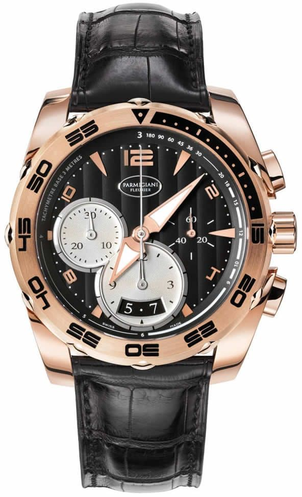 Parmigiani Pershing 002 Chronograph 42mm Automatic in Rose Gold