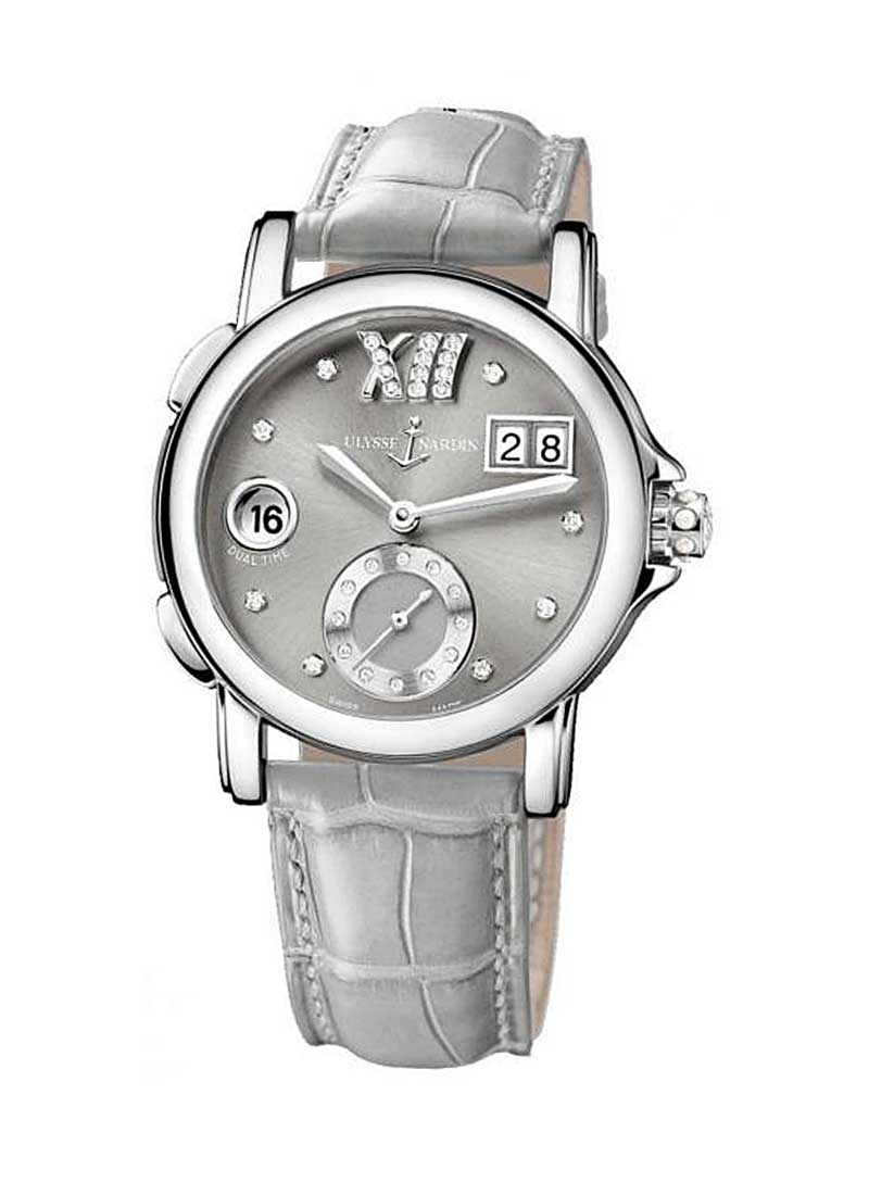 Ulysse Nardin Dual Time Small Second 37mm in Steel