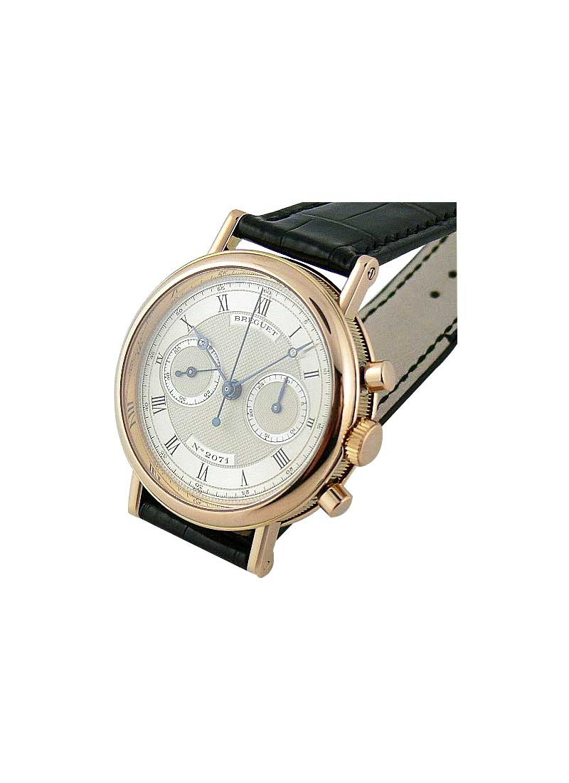 Breguet Classique Chronograph Manual in Rose Gold