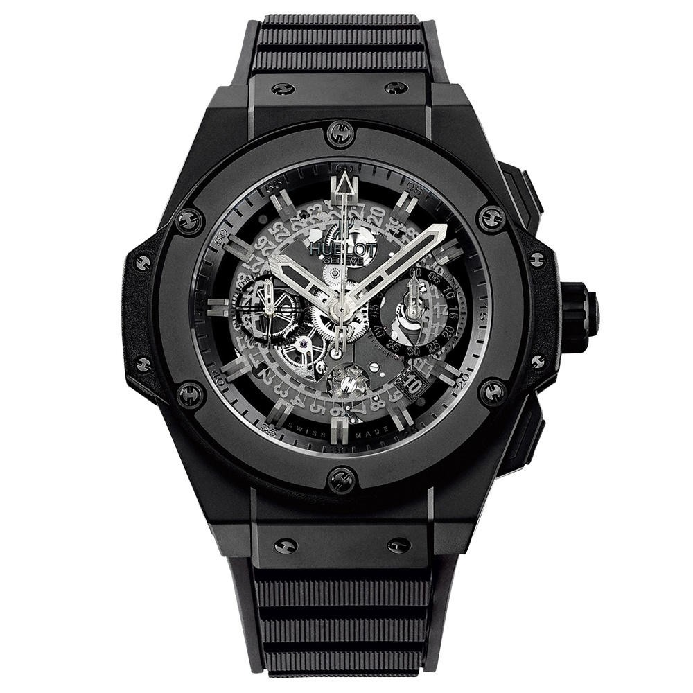 Hublot King Power Unico Black