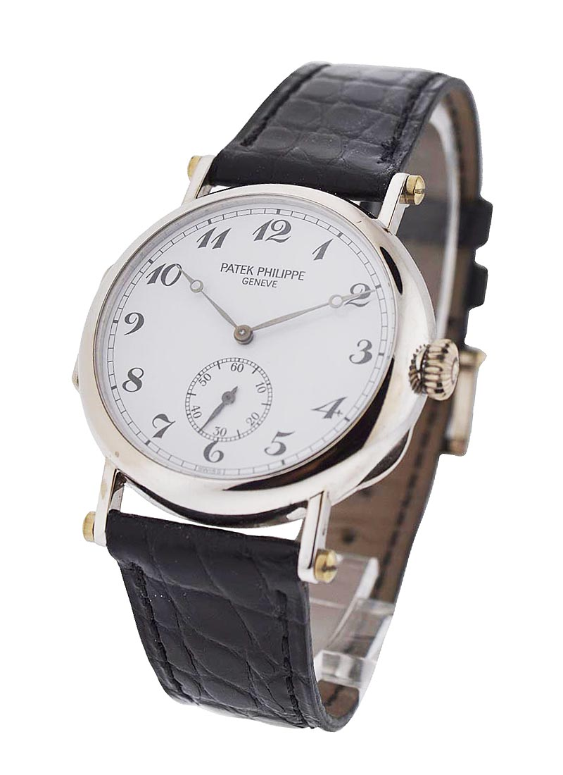 Patek Philippe Calatrava 3960G 150th Anniversary in White Gold - Limited Edition of 150 pieces