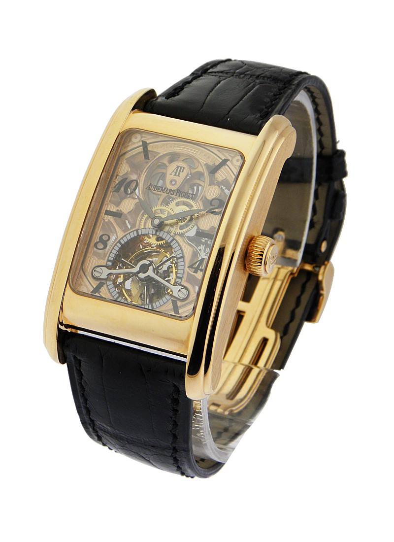 Audemars Piguet Edward Piguet Tourbillon Skeleton in Rose Gold