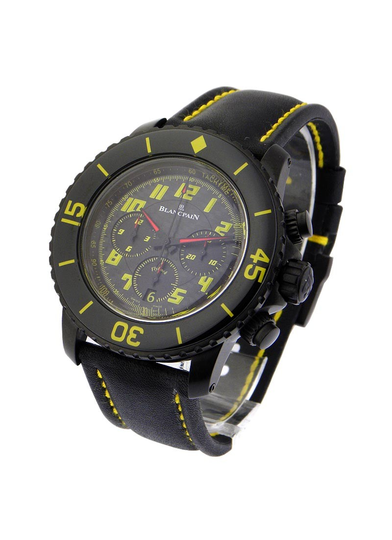Blancpain Speed Command Flyback Chronograph   Yellow