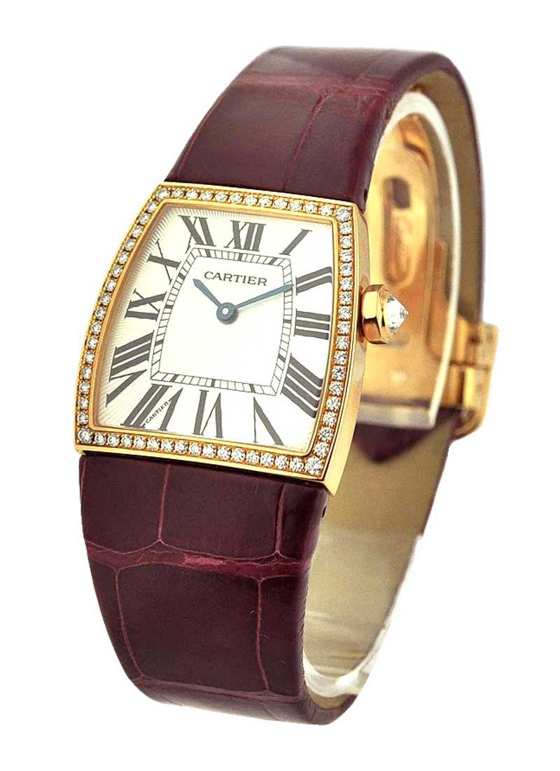 Cartier La Dona De Cartier in Rose Gold with Diamond Bezel