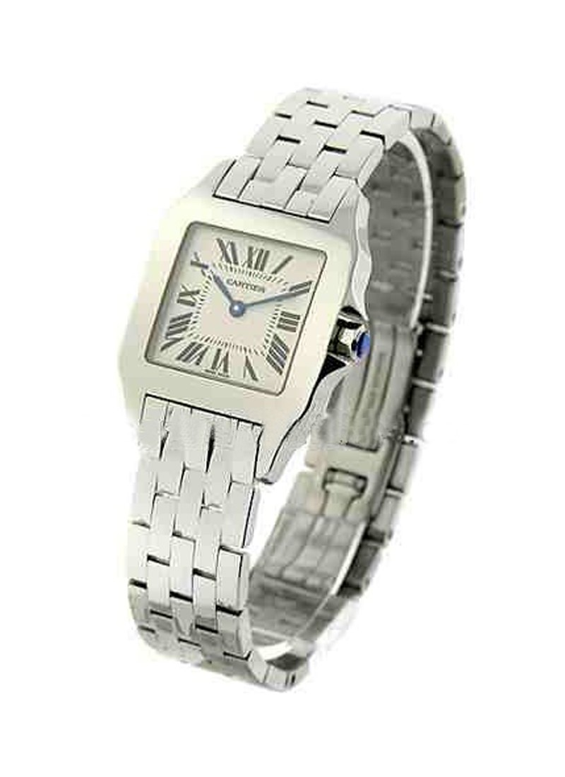 Cartier Santos Demoiselle in Steel - Midsize