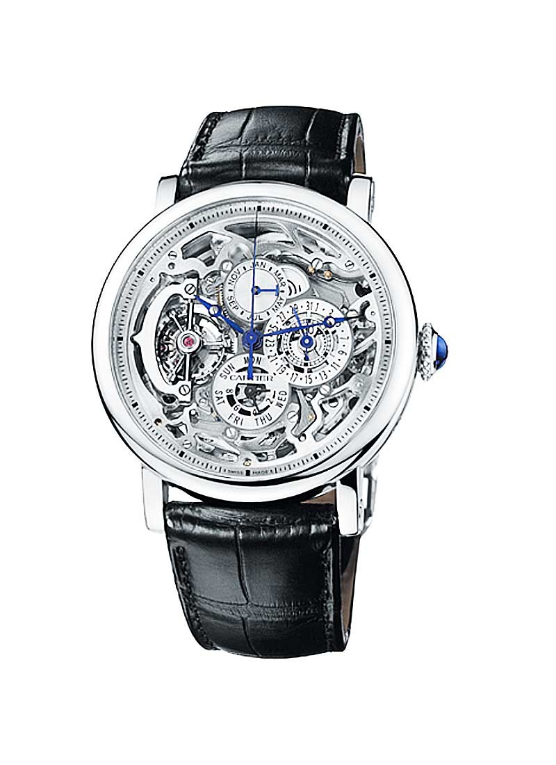 Cartier Rotonde Grand Complications in Platinum
