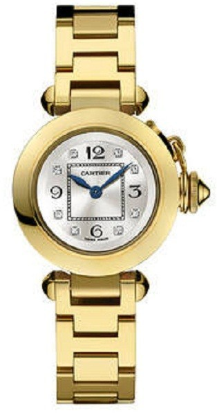 Cartier Miss Pasha 27mm in Yellow Gold