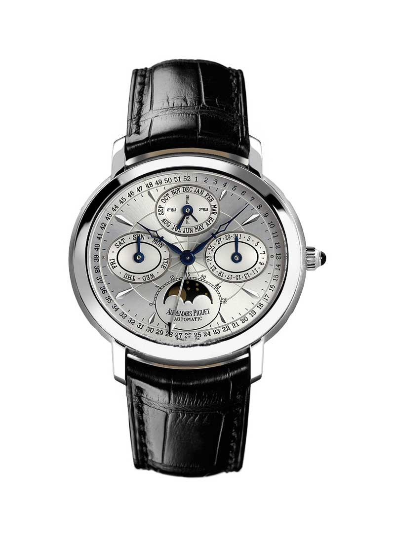 Audemars Piguet Millenary Perpetual Calendar 47mm Automatic in White Gold