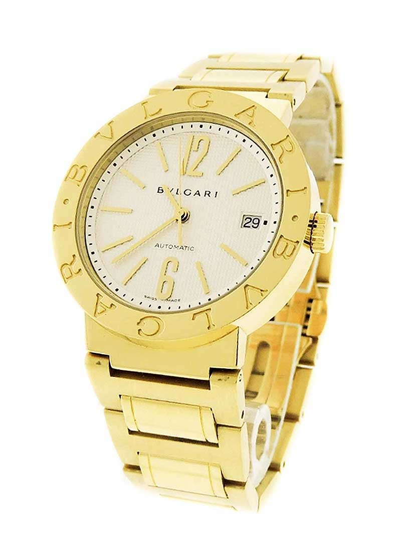 Bvlgari Bulgari 33mm in Yellow Gold