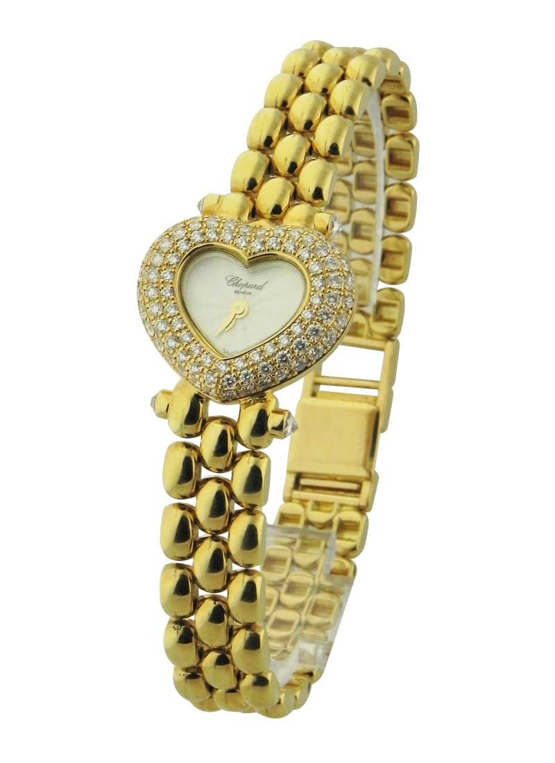 Chopard Heart-Shaped Case - Haute Joaillerie in Yellow Gold with Diamonds