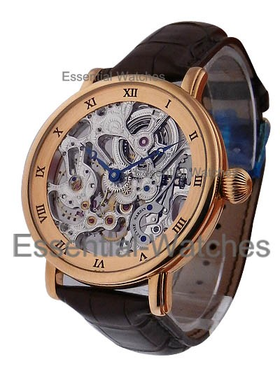 Ulysse Nardin Maxi Skeleton in Rose Gold