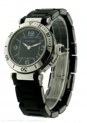 Cartier Pasha Seatimer Small in Steel