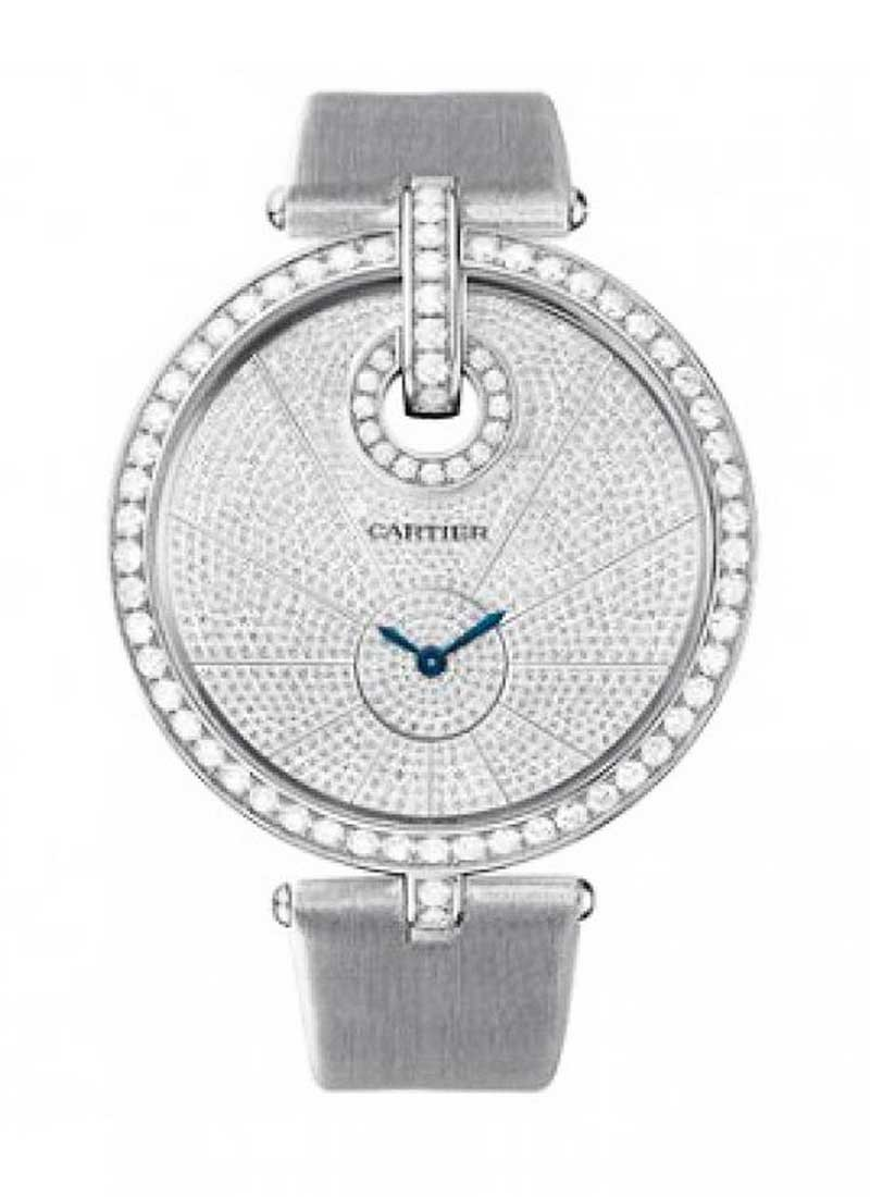 Cartier Captive de Cartier with Diamond Bezel