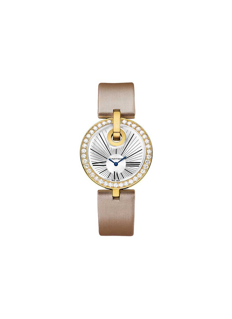 Cartier Captive de Cartier in Yellow Gold with Diamond Bezel