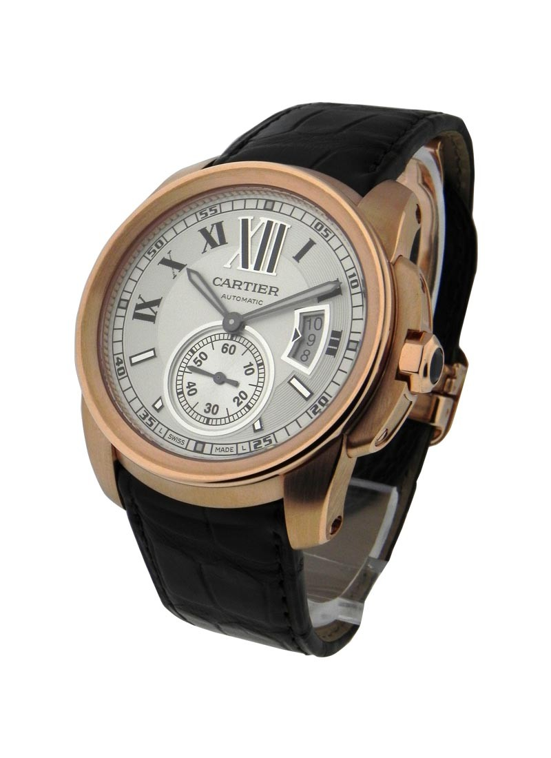 Cartier Calibre De Cartier in Rose Gold