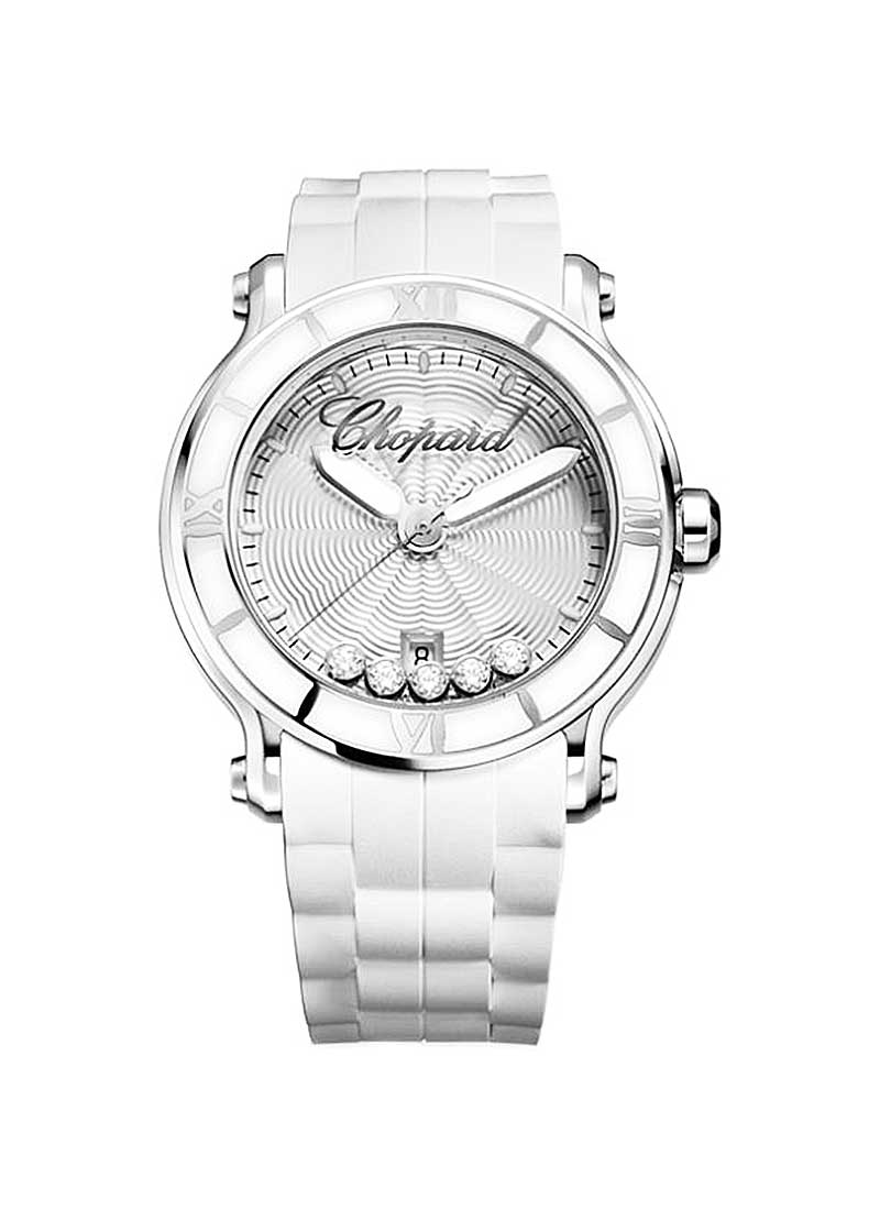Chopard Happy Sport II Round in Steel