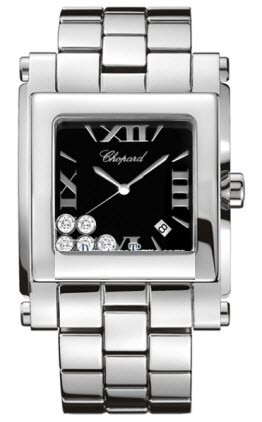 Chopard Happy Sport II Square XLin Steel