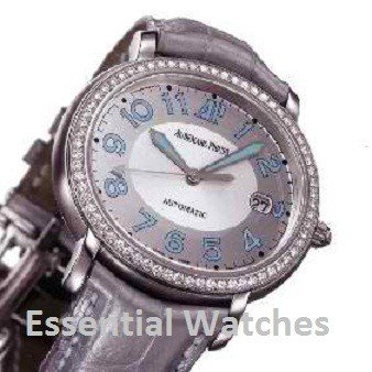 Audemars Piguet Millenary Lady's in Steel with Diamonds Bezel