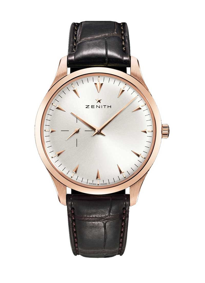 Zenith Elite Mens in Rose Gold