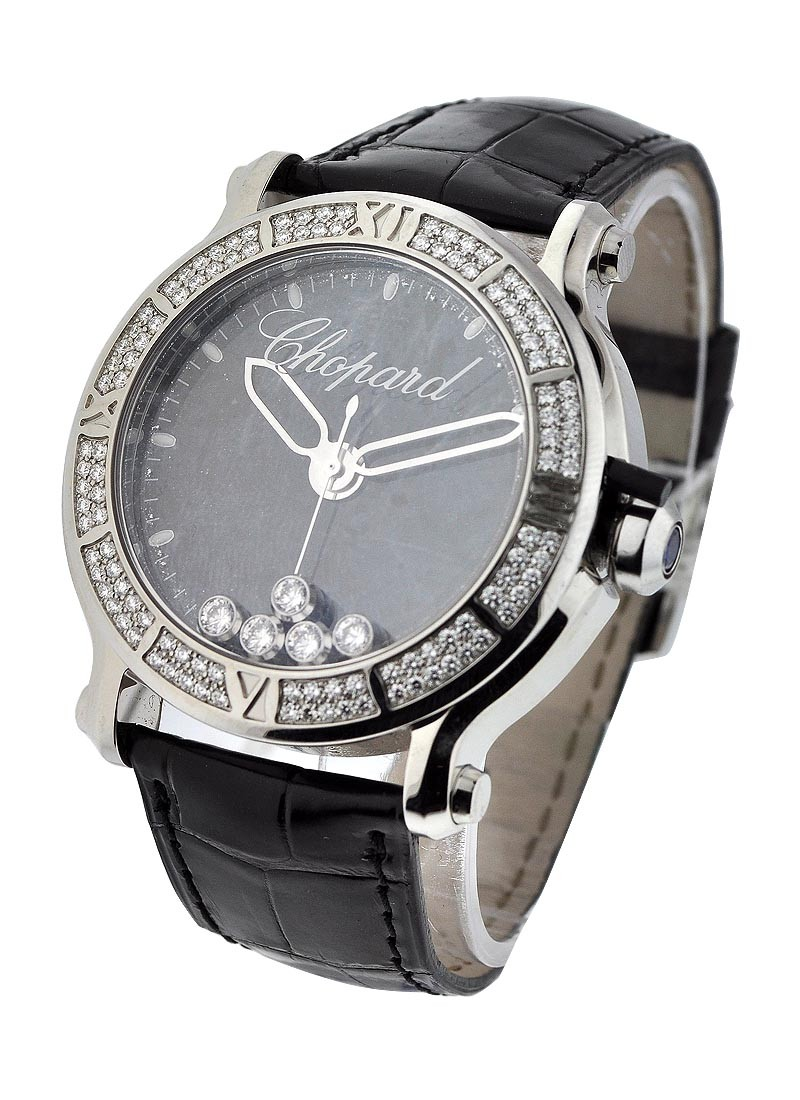 Chopard Happy Sport Round - 5 Floating Diamonds