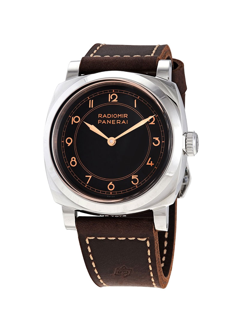 Panerai Radiomir 1940 in AISI 316L Polished Stainless Steel