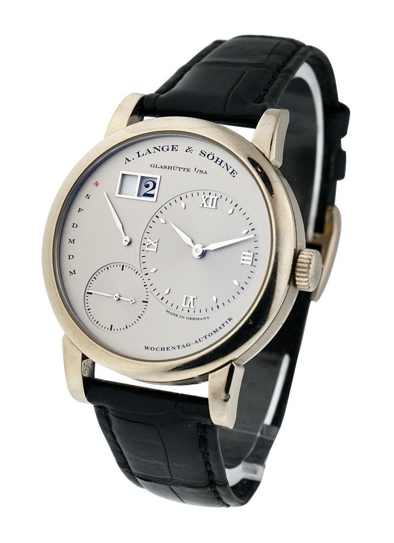 A. Lange & Sohne Lange 1 Daymatic in Platinum