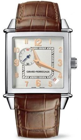 Girard Perregaux Vintage 1945 Square Petit Seconde in Steel